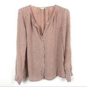 Joie silk button down blouse